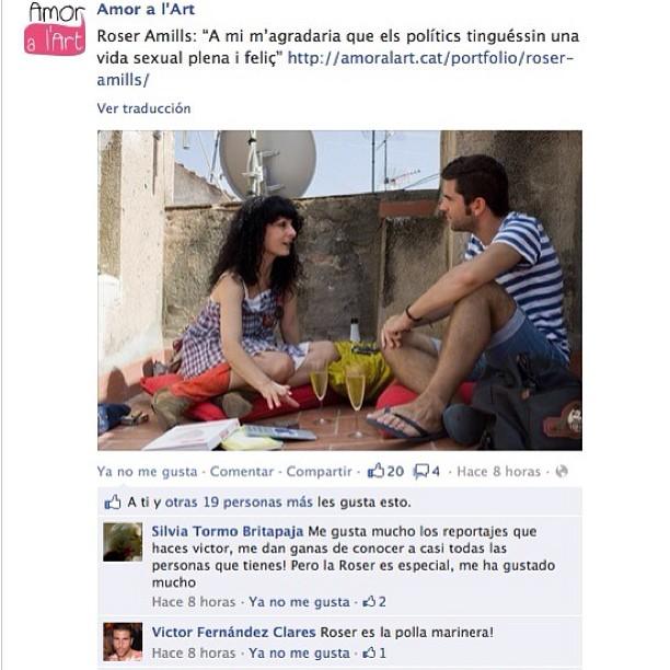 """Víctor Clarés entrevista a Roser Amills per la reedició de """"Morbo"""", any 2012"""