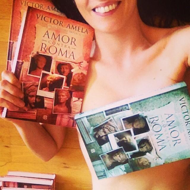 La 2   Víctor Amela amb #amorcontraroma i Roser Amills amb #fesbondat, novel·la de fades de moda