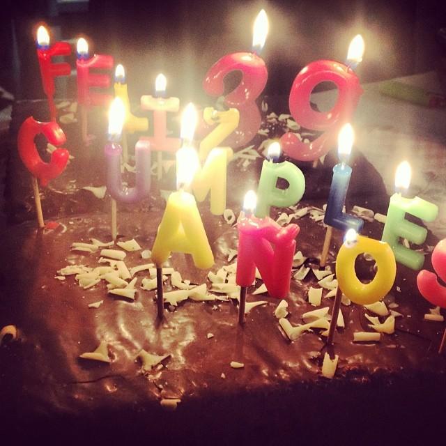 39 cumpleaños roser amills pastel