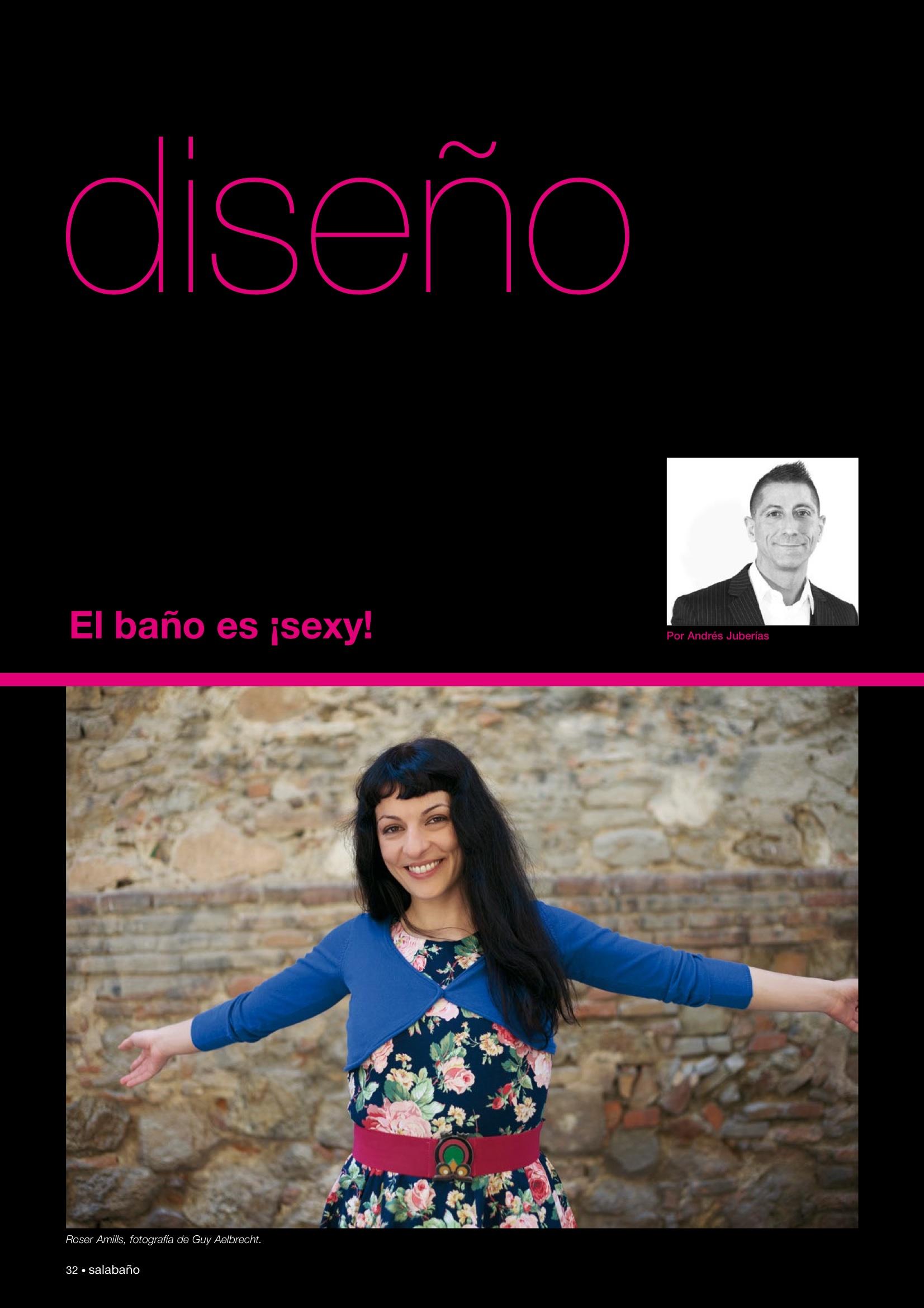 Revista Sala Baño | Entrevista a Roser Amills, por Andrés Juberías