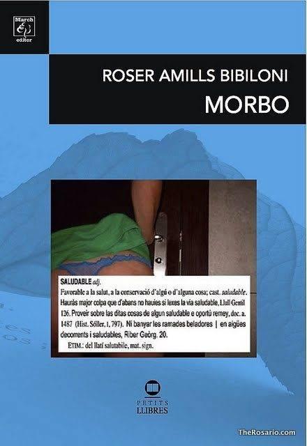 coberta primera edicio poemari morbo de roser amills bibiloni frontal