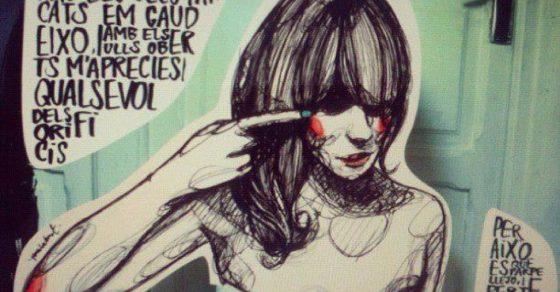 paula bonet ilustra poema de roser amills