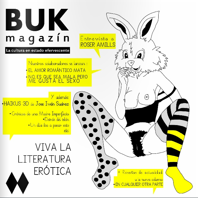 Me entrevistan en BUK Magazine