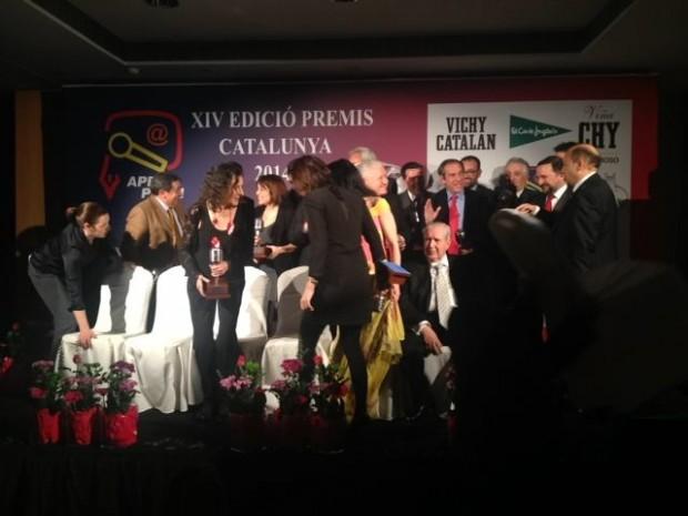 foto de grupo premios apei 2014 vichy catalan 2