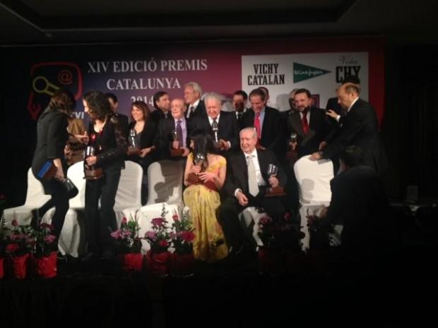 foto de grupo premios apei 2014 vichy catalan 3