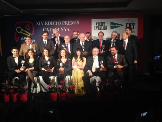 foto de grupo premios apei 2014 vichy catalan 6