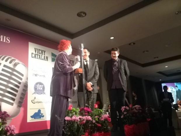 rosa maria calaf quim barnola xavi diaz premios apei 2014 2