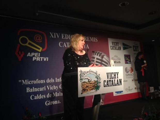 silvia tarragona premios apei 2014 gala vichy catalan