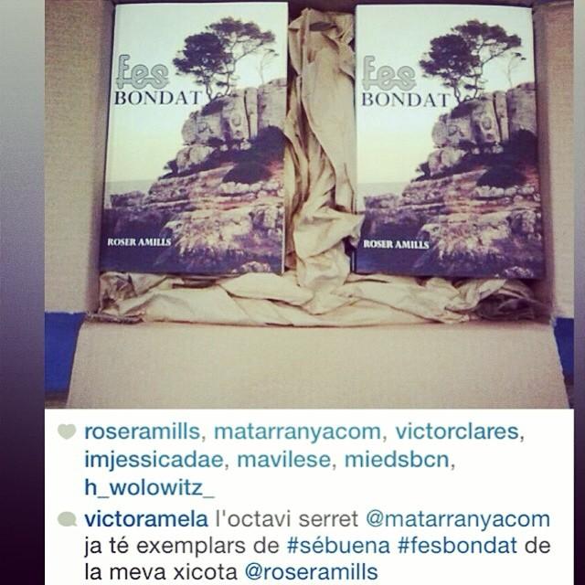 Un petó a Toni Galván per ser tan bon lector!! #fesbondat power