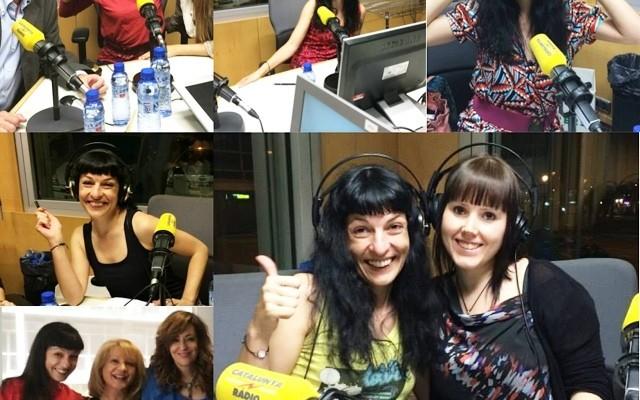 Entreu al web de @catalunyaradio a escoltar com ens ho passem de bé a #miliunanits!!