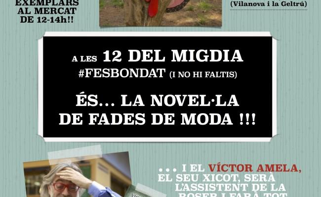 """Cita a Vilanova i la Geltrú   Vine a buscar el teu exemplar signat de la novel·la """"Fes bondat"""" (aperitiu 14-6-2012)"""