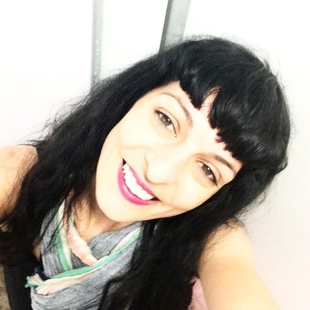 selfie roser amills bufanda de victor amela