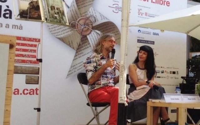 Molt agraïts a la Setmana del llibre en català!!! #fesbondat i #AmorcontraRoma ;))