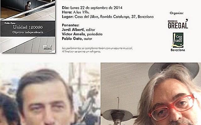Cita de hoy, y hay vino gratis :)) Con Víctor Amela y Pablo Gato