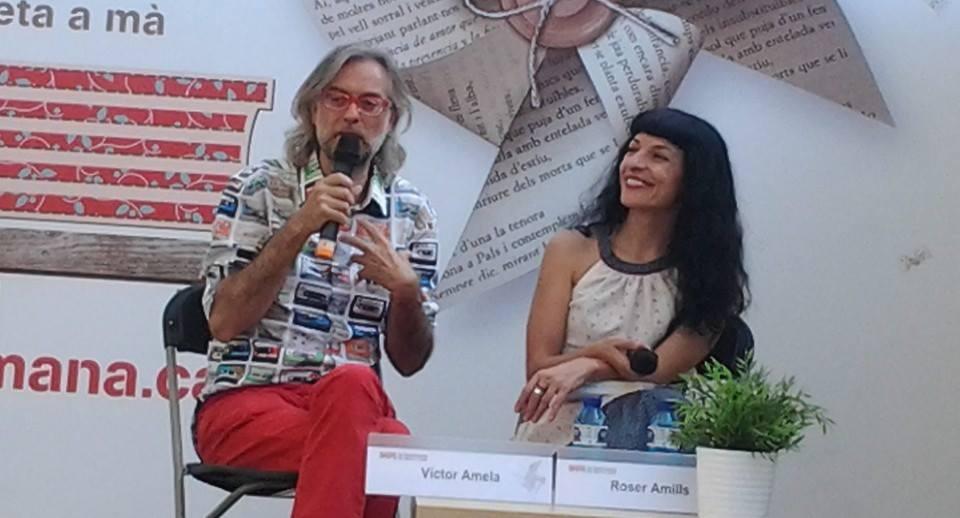 """Entrevista a Canet Ràdio a Víctor Amela i Roser Amills per """"Paraules d'amor"""""""