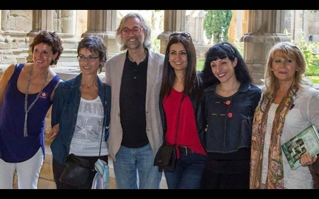 A #Lleida amb Antònia Dolcet, Joana Cabases, Víctor Amela, Núria Serrate i Maria Jesus Elcacho