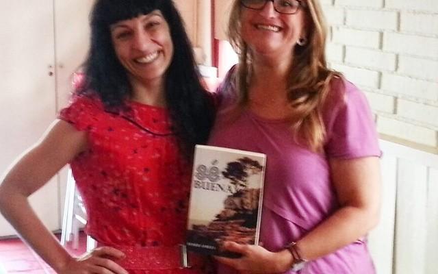 Esta tarde he conocido a Sonia y ella ha conocido #sébuena !!