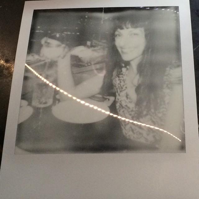 BTV | Polaroid de Claire Roquigny a la plaça de la Revolució de Barcelona