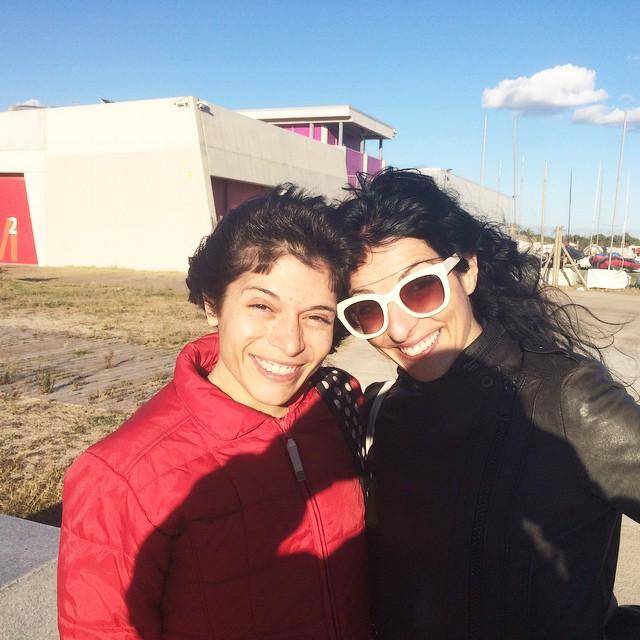Gràcies, Oscar, pel pícnic i per presentar-me a la Cristina! Sou meravellosos!! Hi tornarem!!