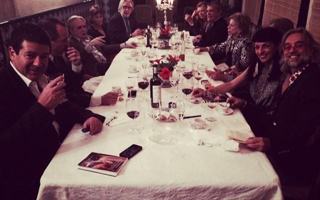 Anual cena casanovista, un placer recordar a #Casanova ;))