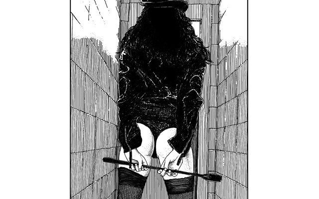 Feliz! la gran Apollonia Saintclair me ha vuelto a usar de modelo! La cravache (I'm waiting for you) Model: Roser Amills :))