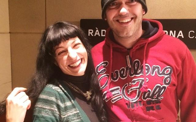 La Ser   Aquí amb @jimabel79 el becari del programa Espècies protegides ;))