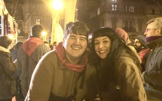 Amb en Gori Bujosa d'@espaimallorca feim es gueto mallorquí de #fogueronsagracia més divertit ;))