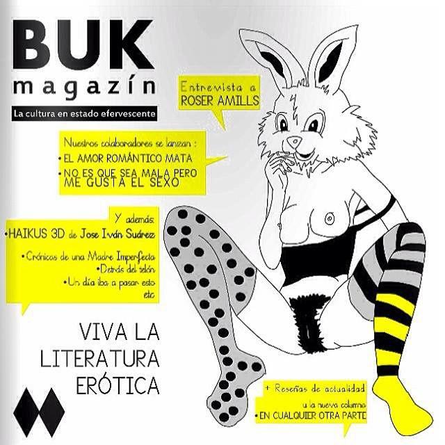 Tenéis la divertida entrevista que me hicieron en @bukmagazine en mi blog ;)) #sanvalentin #felicidadsexual #morbo