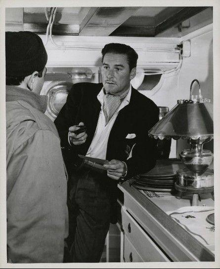 Errol Flynn aboard the Zaca charla