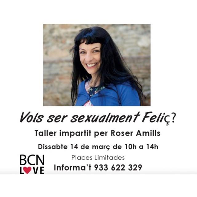 Demà és el gran dia, de 10 a 14h treballarem la felicitat sexual!