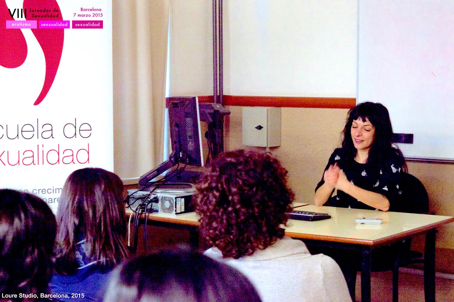 Mi participación en la octava edición de las Jornadas de Sexualidad en la Facultad de Psicología de la Universitat de Barcelona