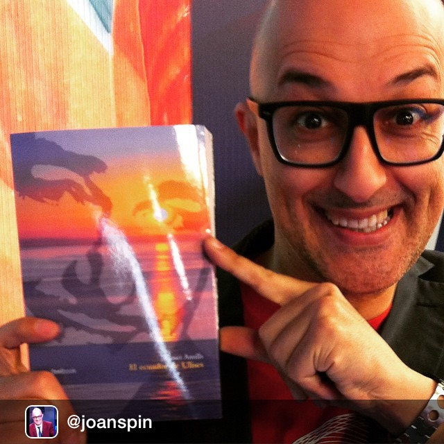 Dice mi adorado Joan Spin que hay que leer #elecuadordeulises on fire!!!