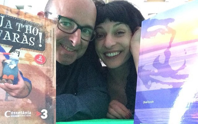 Amb en Rafel Vives hem fet un acord: mecanisme versus romanticisme #santjordi2015 #elecuadordeulises
