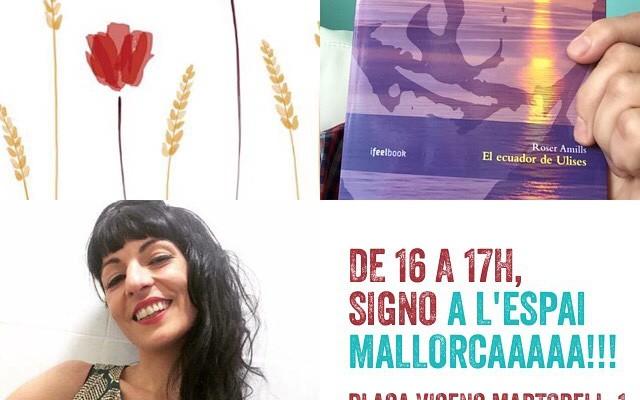 Voleu venir a veure'm a l'Espai Mallorca ?? Tenim #elecuadordeulises sobrassada i herbes!!!