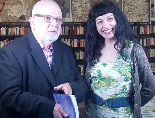 Canal 33   Jaume Figueras de 'Cinema 3' parla de llibres amb Roser Amills i Abel Cutillas