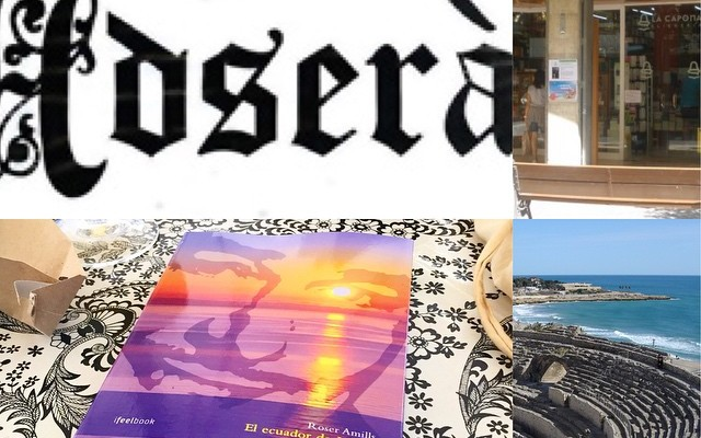 Si ets a Tarragona i vols #elecuadordeulises signat vine a Llibreria Adserà o a La Capona avui :))