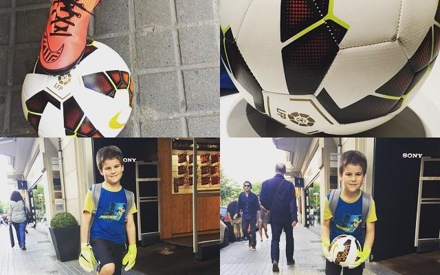 Mañana 28 Juan cumple 8 años y… Ha salido un poco del Barça
