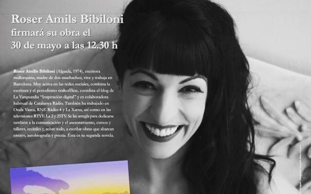 Ei, demà dissabte seré a Vall de Roures a @serretllibres amb el meu home @victoramela #elecuadordeulises #ErrolFlynn