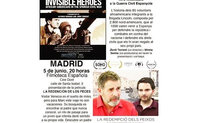 DOS ESTRENOS, dos: mi amigo Jordi @nycjordi Torrent estrena en Barcelona y Madrid #indiefilmmaking Id!
