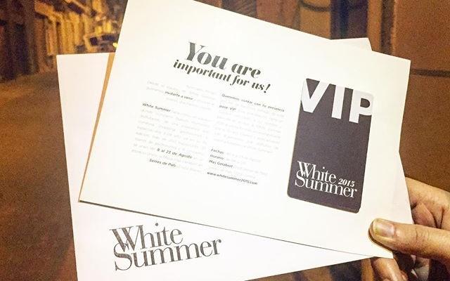 Preparada para el @whitesummer15, y tú?
