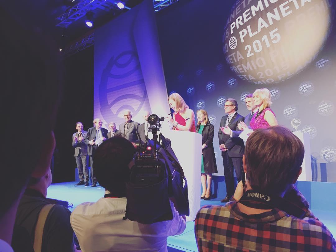 Finalista #premioplaneta2015 de Daniel Sánchez Arévalo