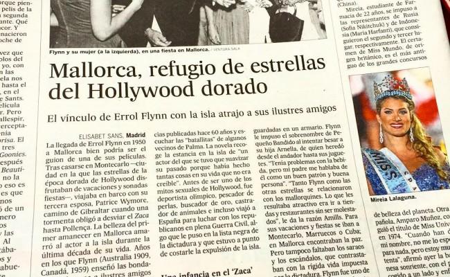 El País | Mallorca, refugio de estrellas del Hollywood dorado