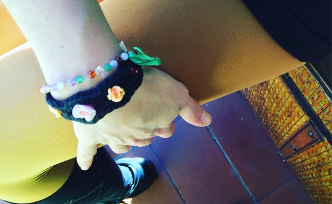 Os gusta mi nueva pulsera #besillodeganchillo ?