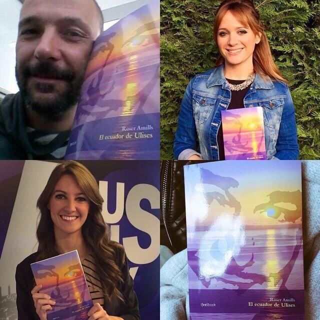 lectores con El ecuador de Ulises de Roser Amills