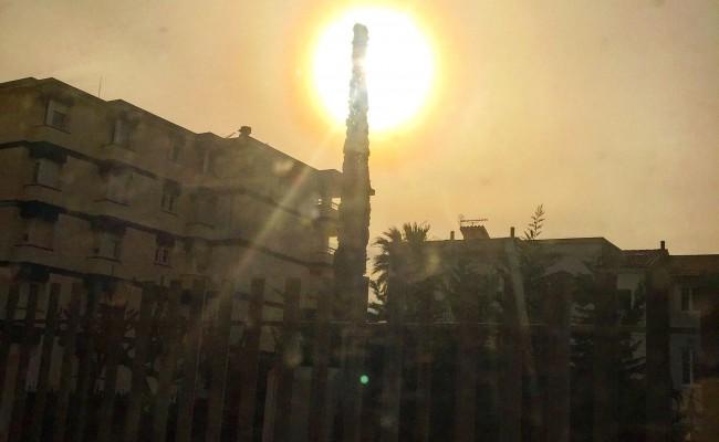 Piruleta de sol y ciprés #buenosdias ;))