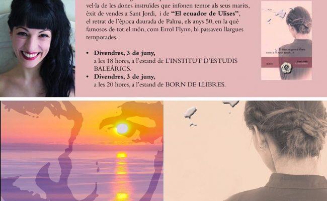 Pssst! Divendres a Mallorca per signar i compartir #labachillera i #elecuadordeulises Veniu!! #firallibre2016 #mallorca @ifbeditors !!! #mallorquina #algaida #llibres #libro #books #bookshop #libreria #llibreria #bestseller #leermola #leeressexy #lecturas #booklover #bookstagram #cultura #regalalibros #regalallibres #novela