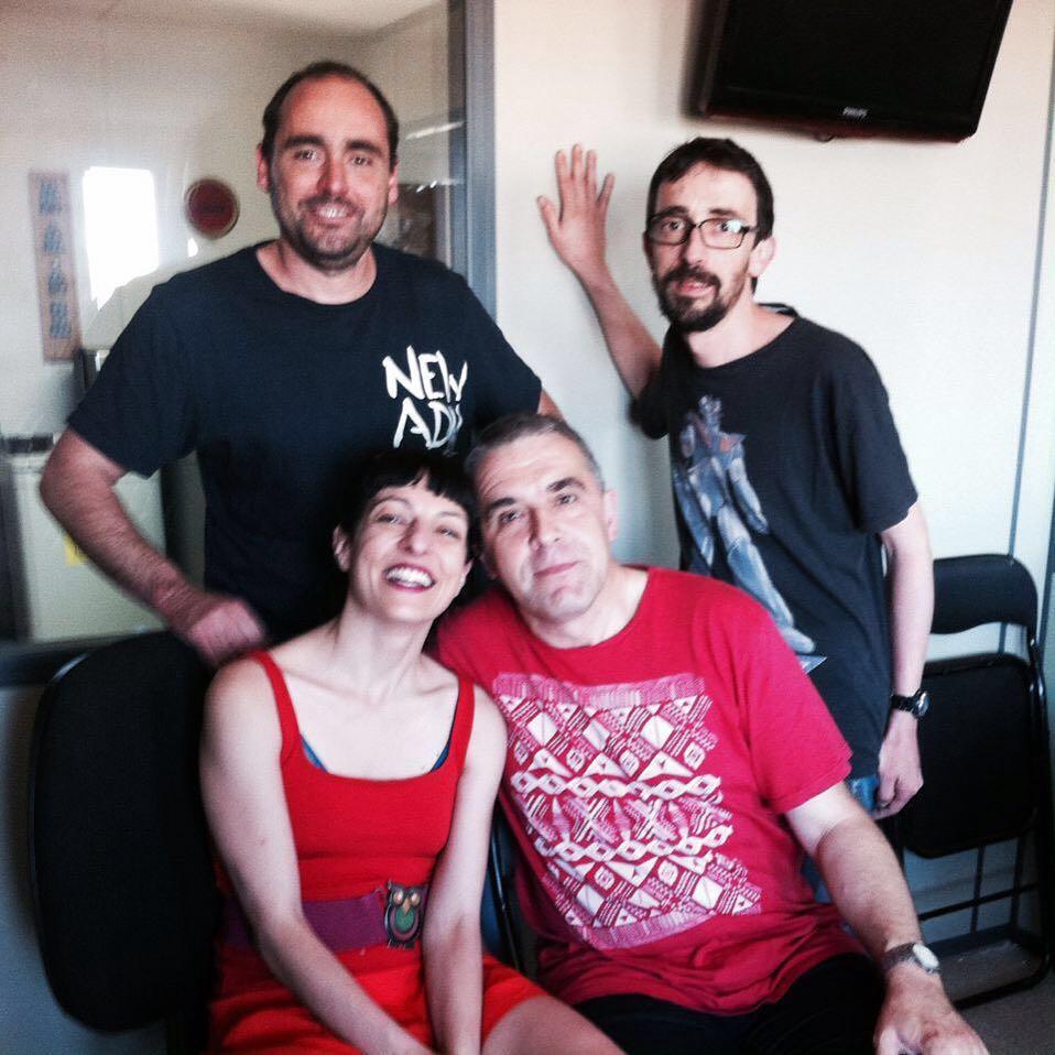 Equipasso de Titoieta Ràdio! M'ha agradat molt visitar-vos!!! @titoieta