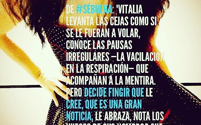 Vitalia es… Honesta :)) Descúbrela en #sébuena por 3€ en Amazon