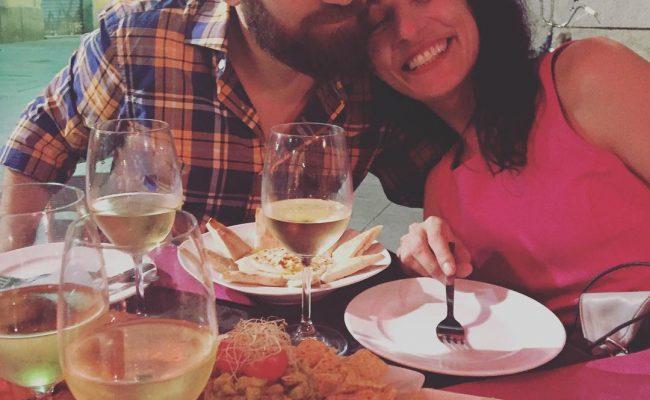 Cenamos, Marco? Súper foto de Lidia Guevara
