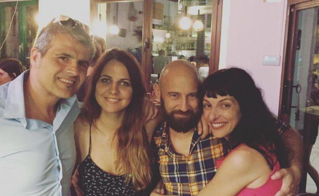 Gran noche! ;)) Con Marco della Porta, Lidia Guevara y Maurizio Capasso y mucha alegría!